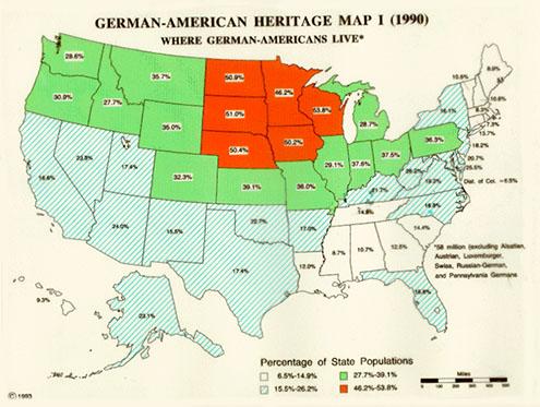 german american heritage map