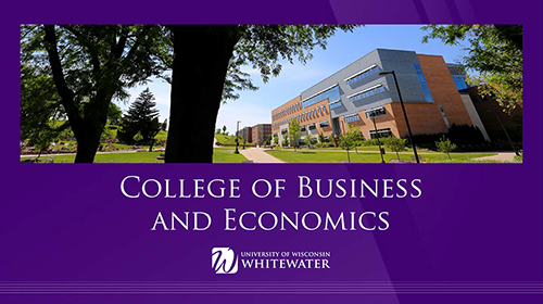Power Point Templates College Of Business And Economics