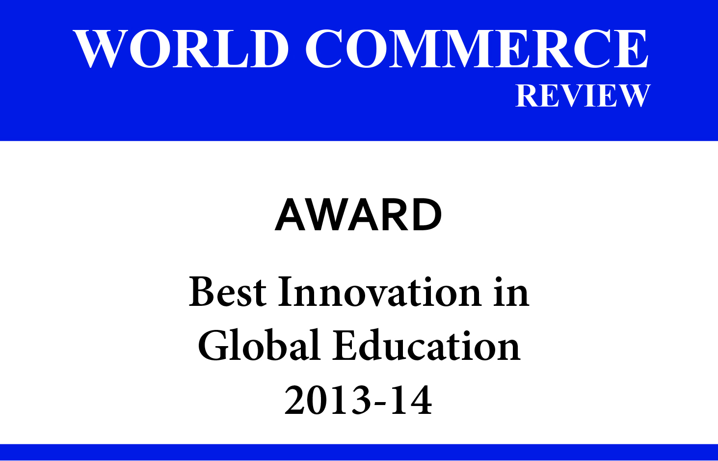 World Commerce Review Award - University of Wisconsin - Whitewater | Online MBA - Wisconsin, USA