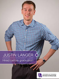 Justin Langer - Hired before graduation - University of Wisconsin - Whitewater | Business School - Wisconsin, USA