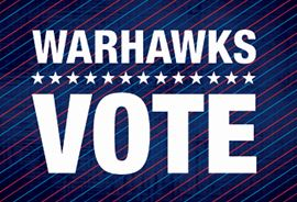 Warhawks Vote Graphic