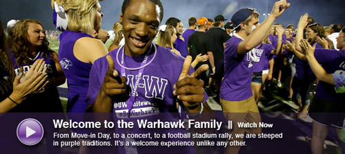 Welcome to the Warhawk Family