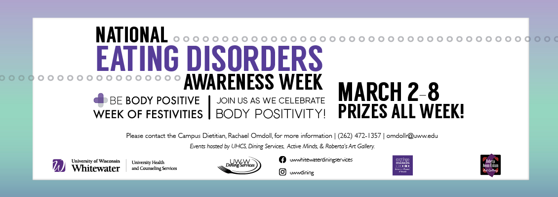 Eating Disorders Awareness Week March 2-6