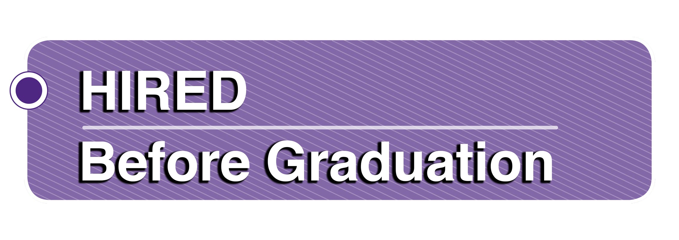 Hired before graduation image
