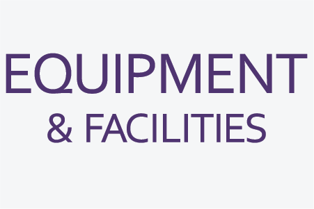 Equipment and Facilites