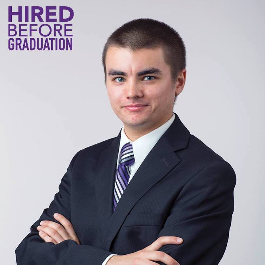 Hired before graduation: Profile picture of Charlie Housh