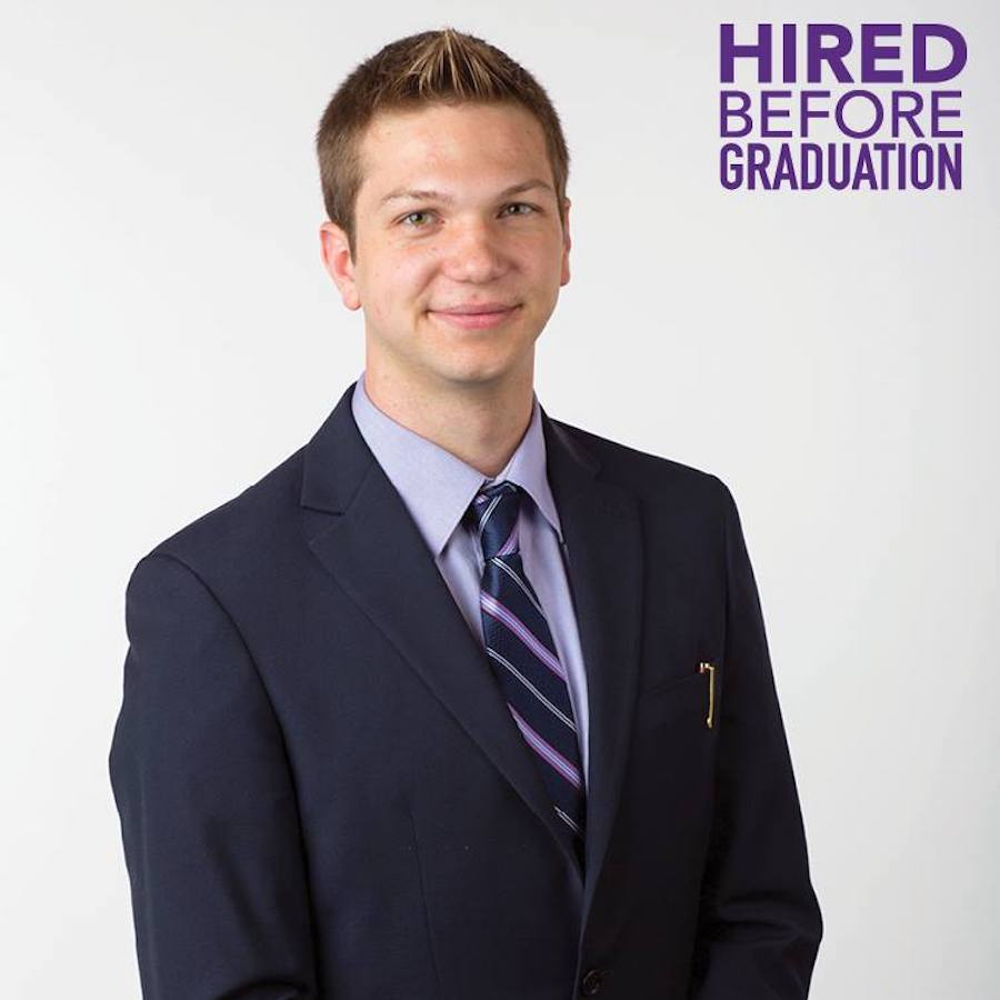 Hired before graduation: Profile picture of David Joerres