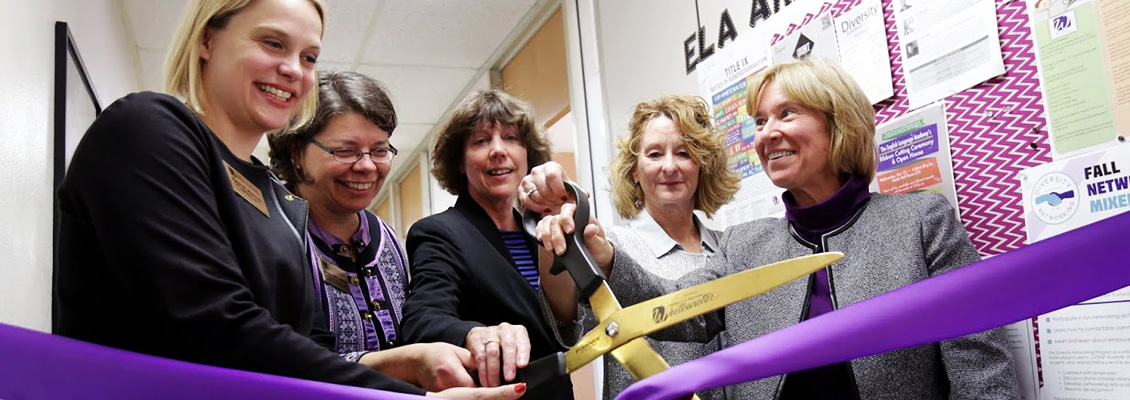 English Language Academy ribbon cutting ceremony