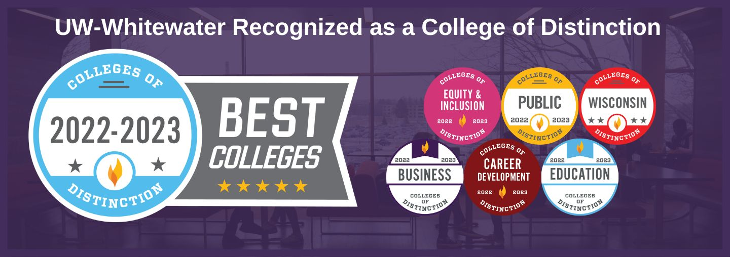 UW-Whitewater recognized as College of Distinction