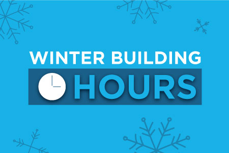 Winter Building Hours
