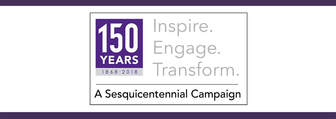 UW-Whitewater 150th Campaign logo