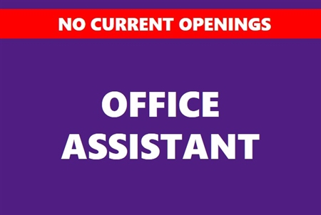 Student Office Assistant
