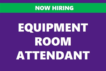 Equipment Room Attendant
