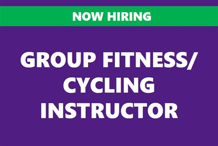 Group Fitness/Cycling Instructor