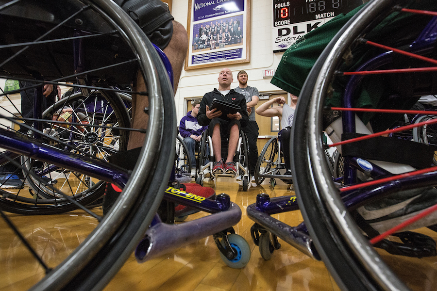 More About UW-Whitewater Wheelchair Basketball