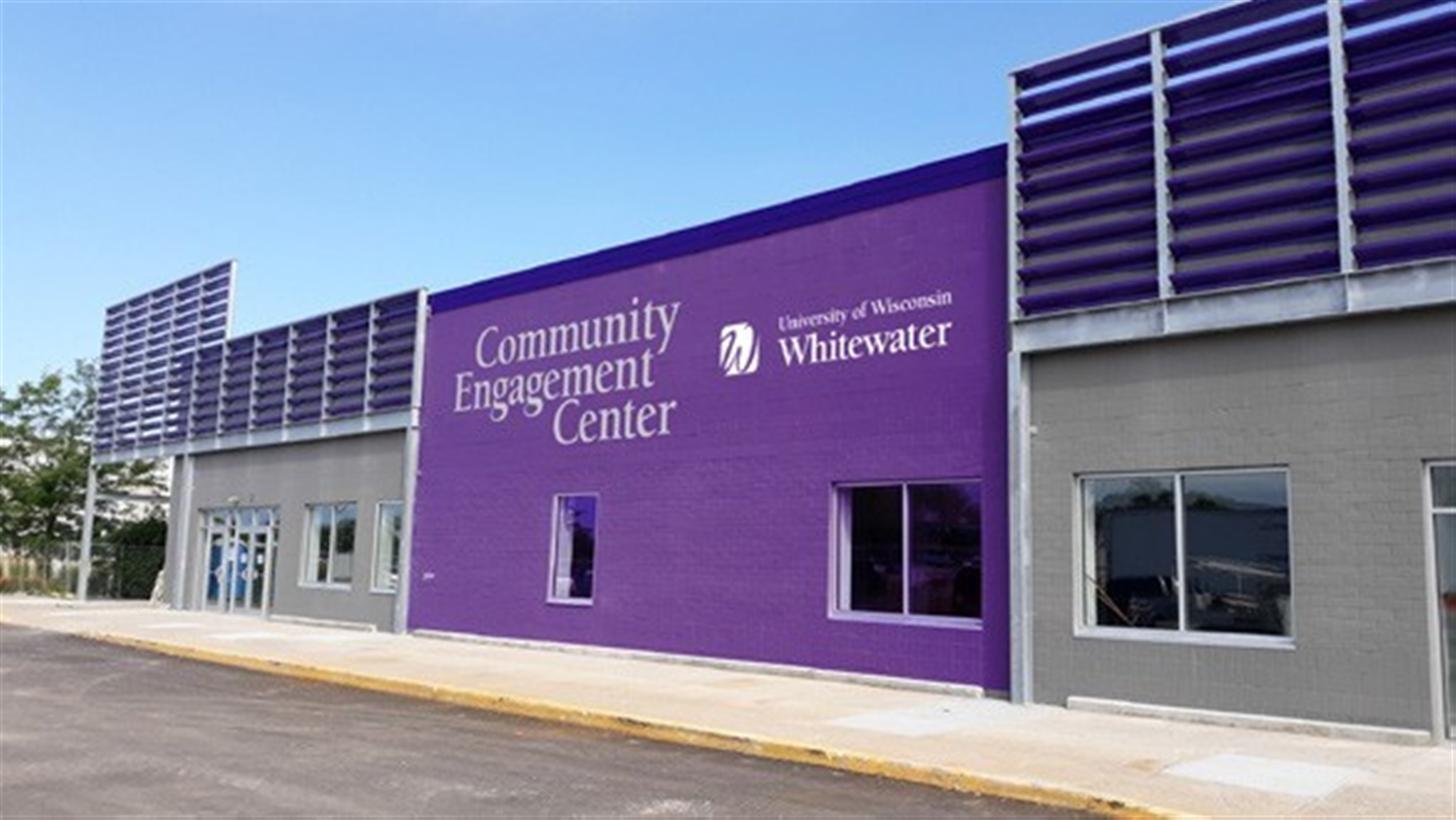 Mockup of the new Community Engagement Center