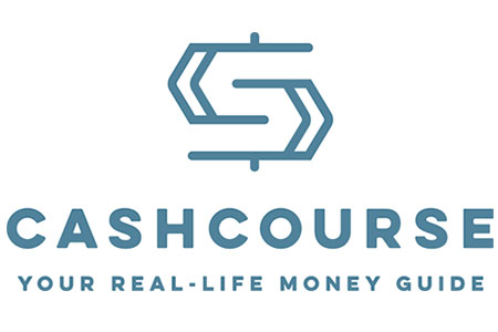 Logo of CASHCOURSE, Your Real-Life Money Guide