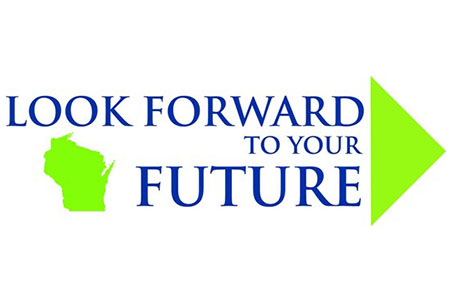 Logo of Look Forward Wisconsin, Look Forward to Your Future