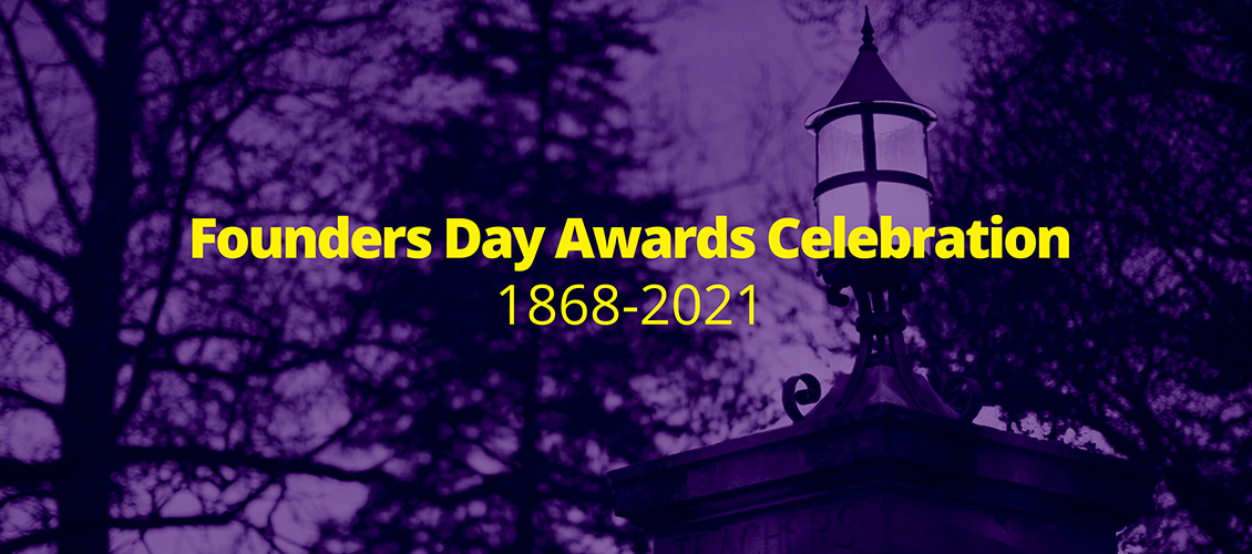 Founders Day Awards Celebration Banner