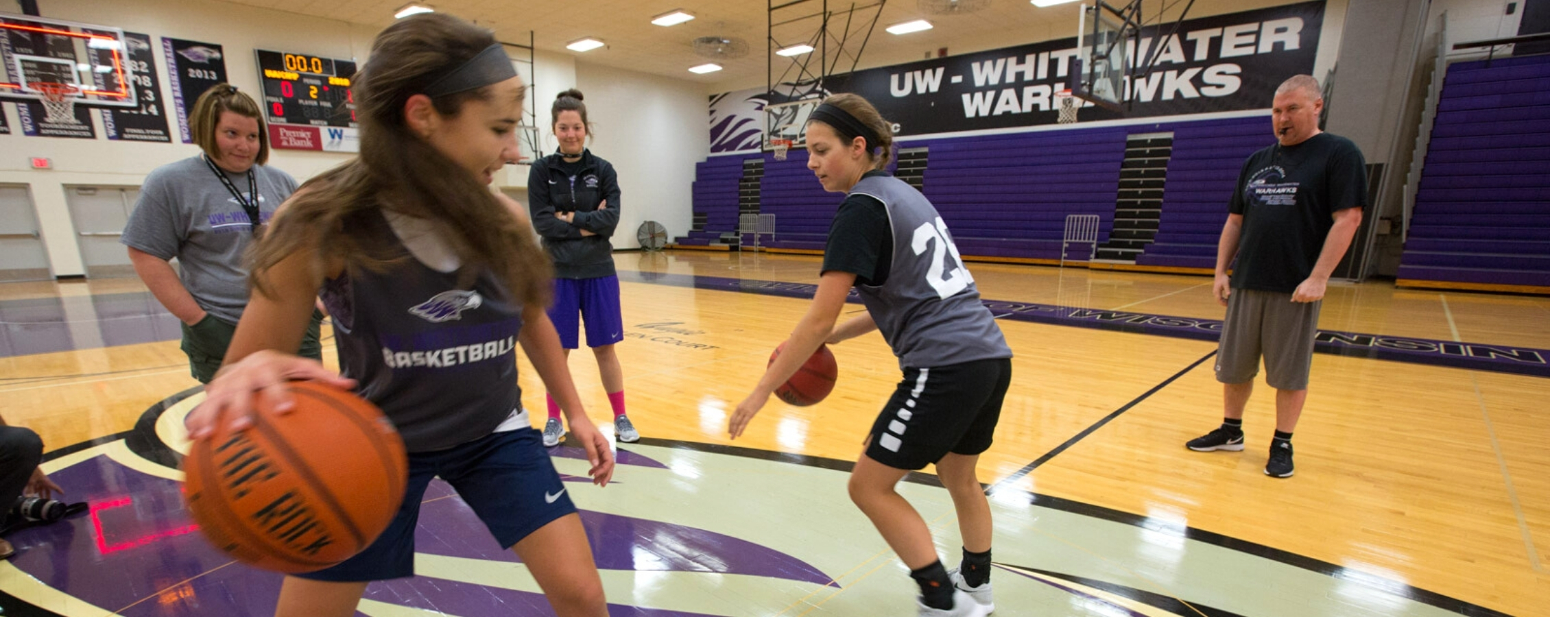 Train at UW-Whitewater and gain the skills to be a better player