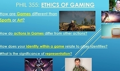 Ethics of Gaming