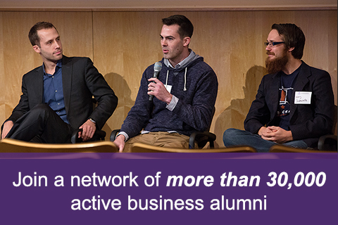 Join a network of more than 30,000 active business alumni