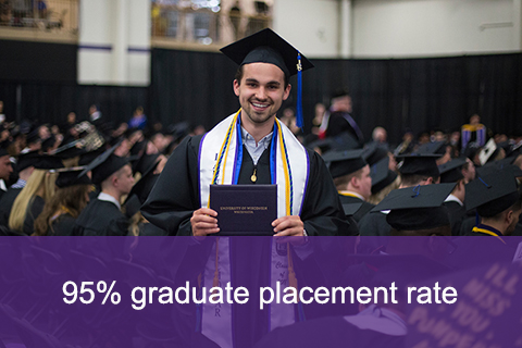 95% graduate placement rate