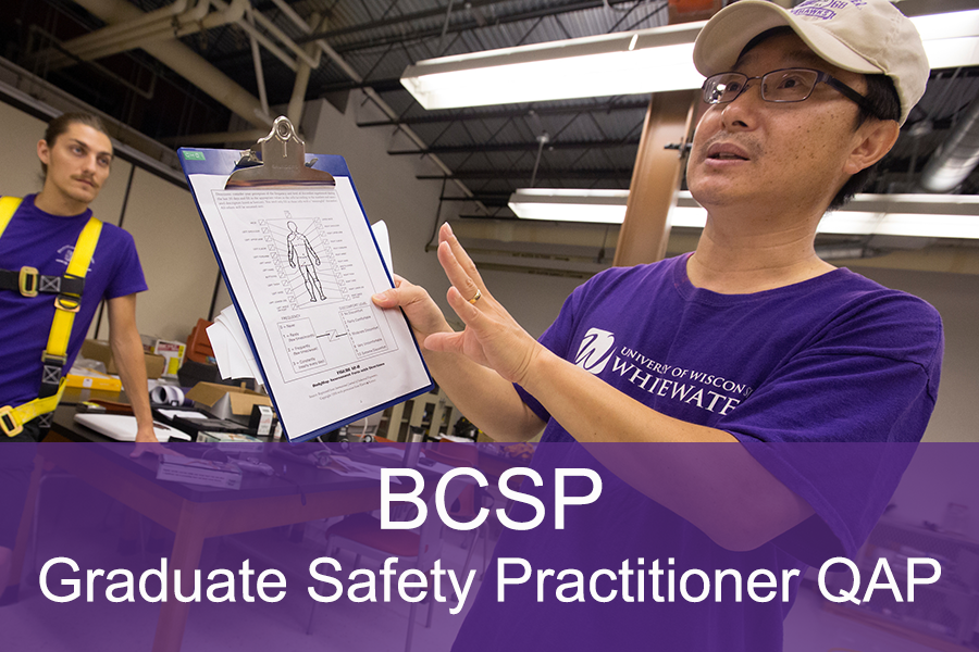 BCSP Graduate Safety Practitioner Qualified Academic Program