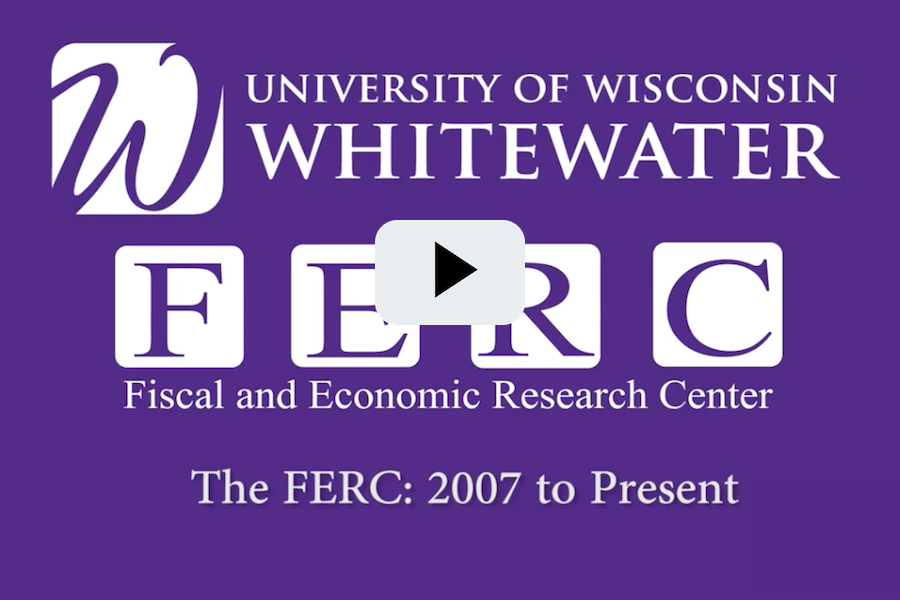 "Fiscal and Economic Research Center - ""The FERC - 2007 to Present"""