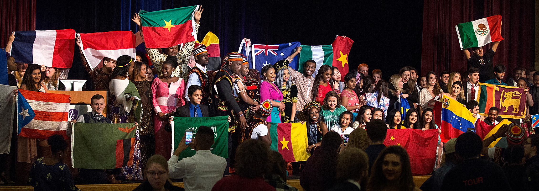 International dinner at UW-Whitewater