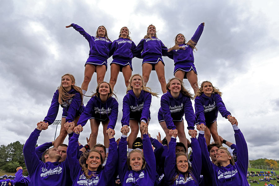 UW-Whitewater Spirit Squad - Give now