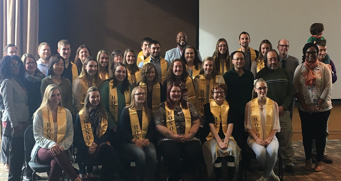 2018 Honors Reception Graduates