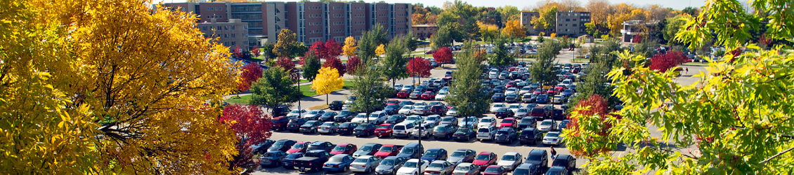 A UWW parking lot