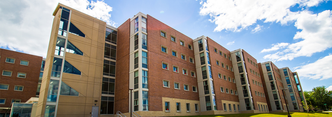 Outside view of Starin Hall