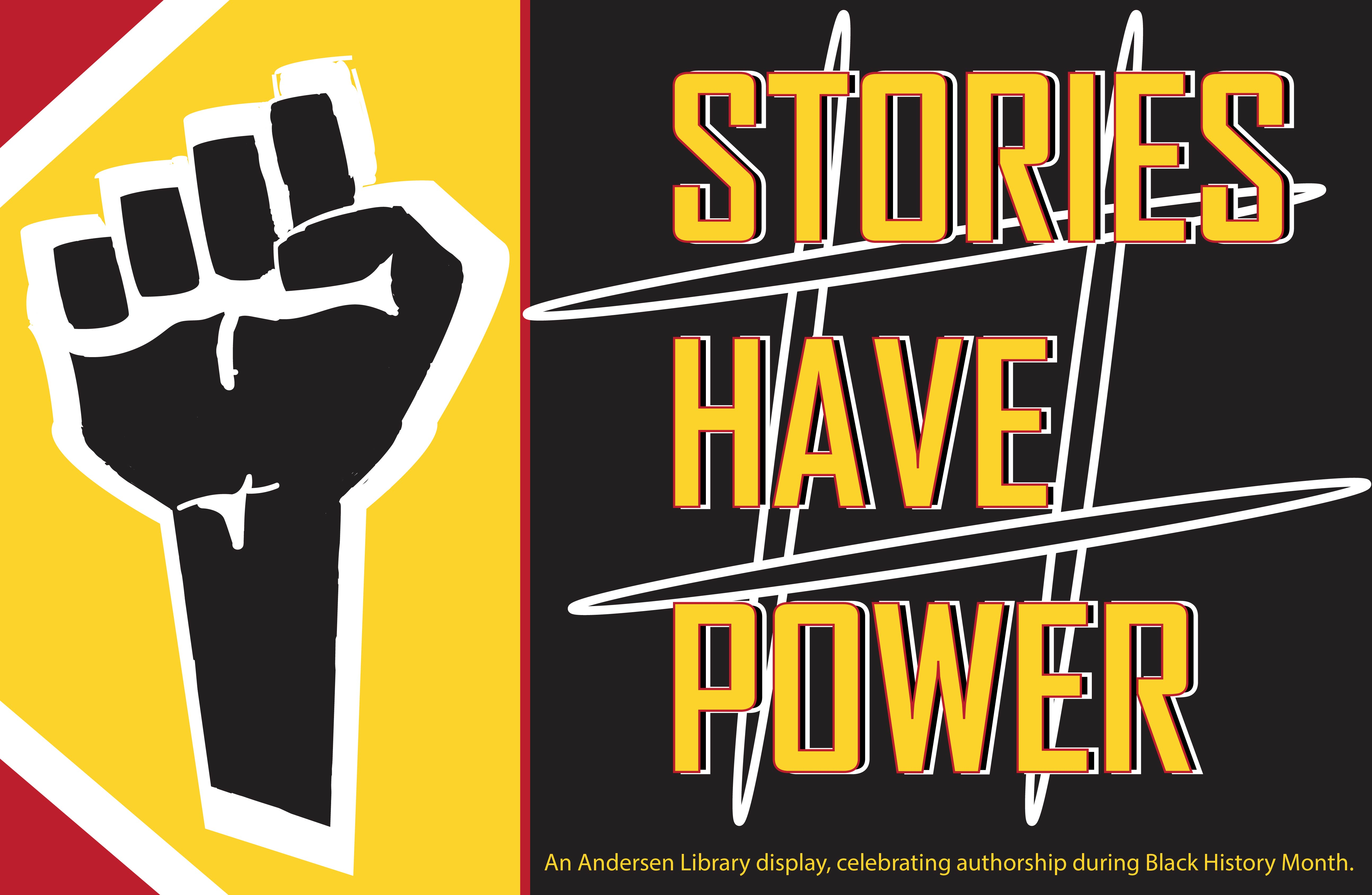 Stories have Power - Power Fist image