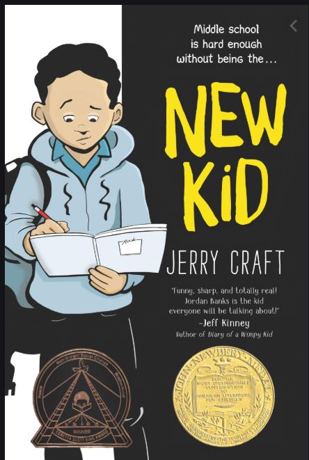 Book cover image of The New Kid