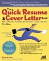 Quick Resume and Cover Letter book