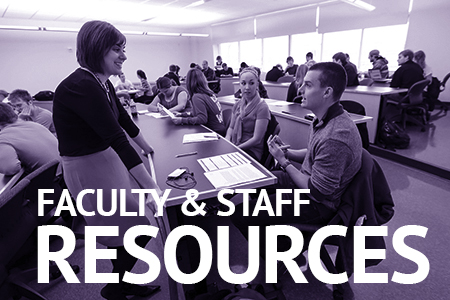 Faculty Staff Resources at Andersen Library
