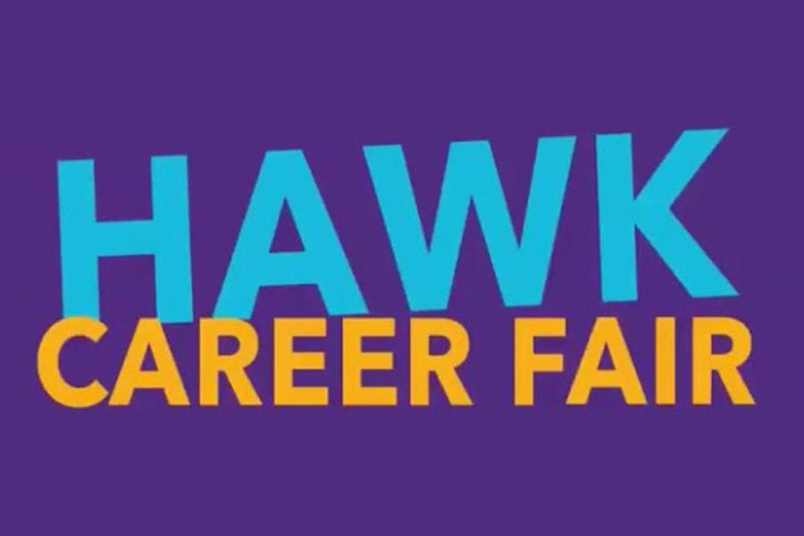 Hawk Career Fair.