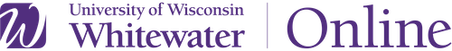 University of Wisconsin-Whitewater Online logo