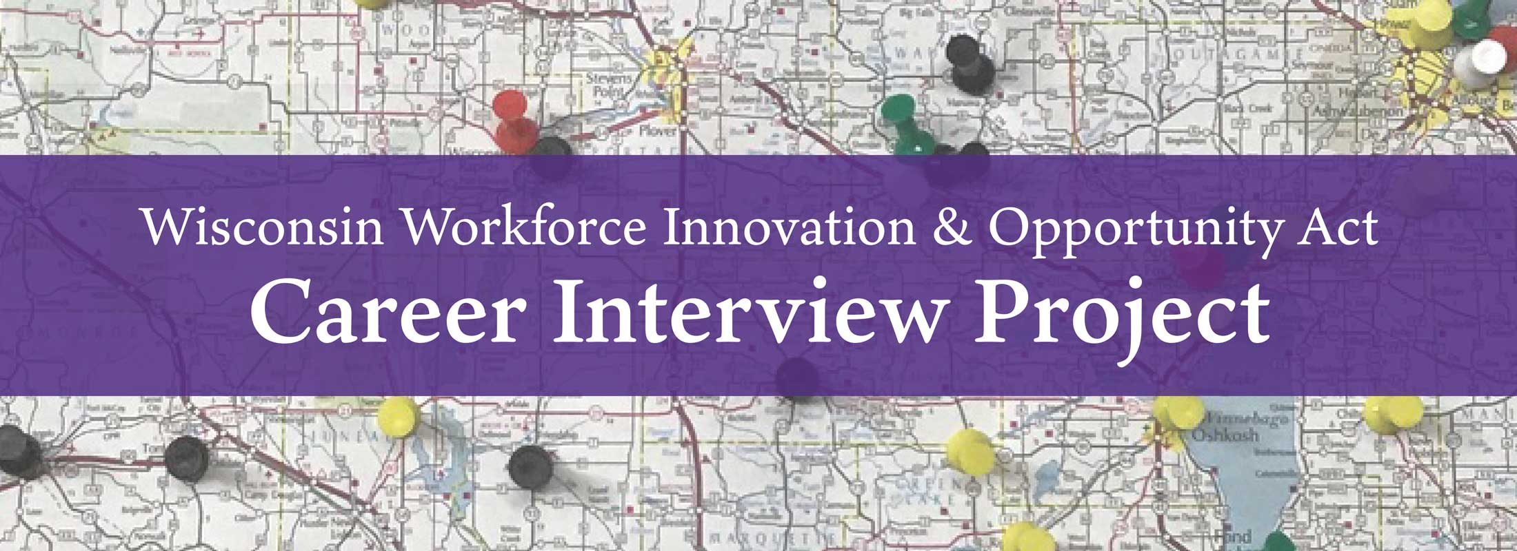 WIOA Career Interview Project Banner