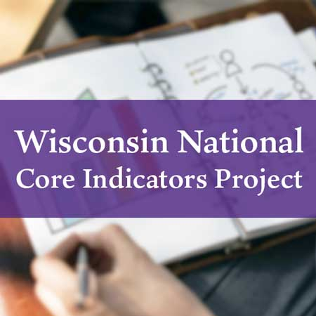 Wisconsin National Core Indicators Project Button