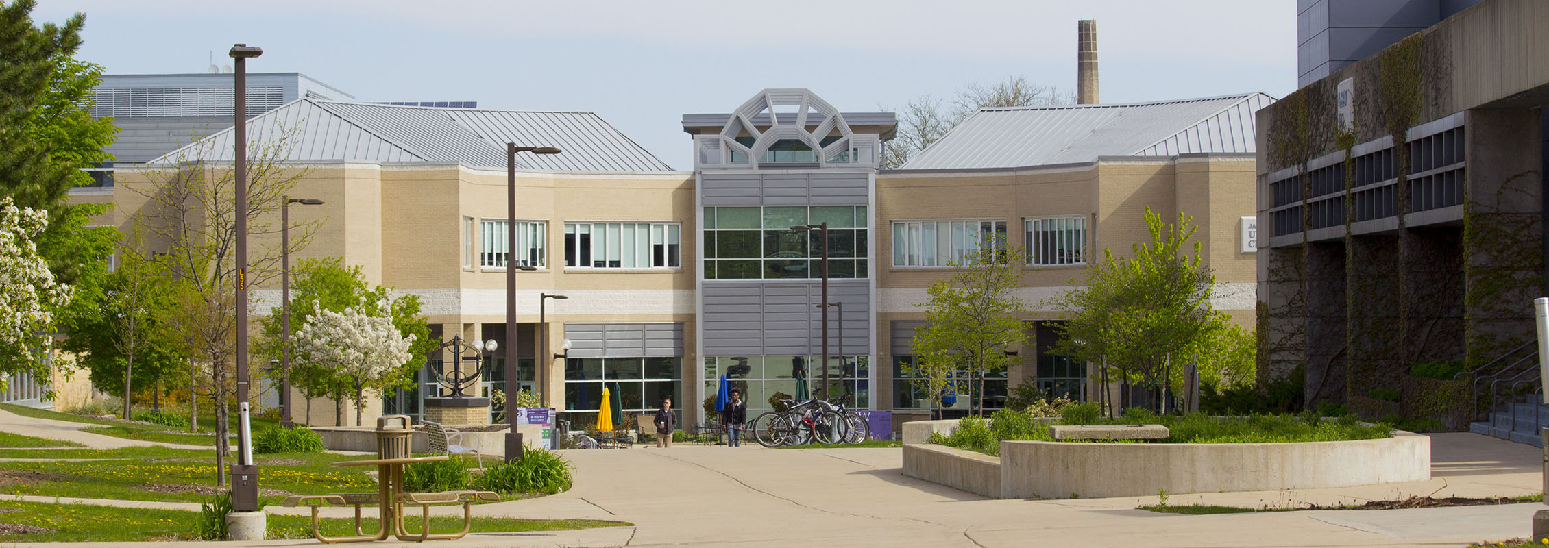 Exterior view of the UW-Whitewater University Center