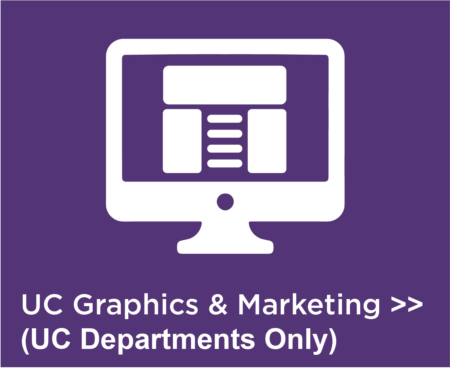UC Graphics and Marketing
