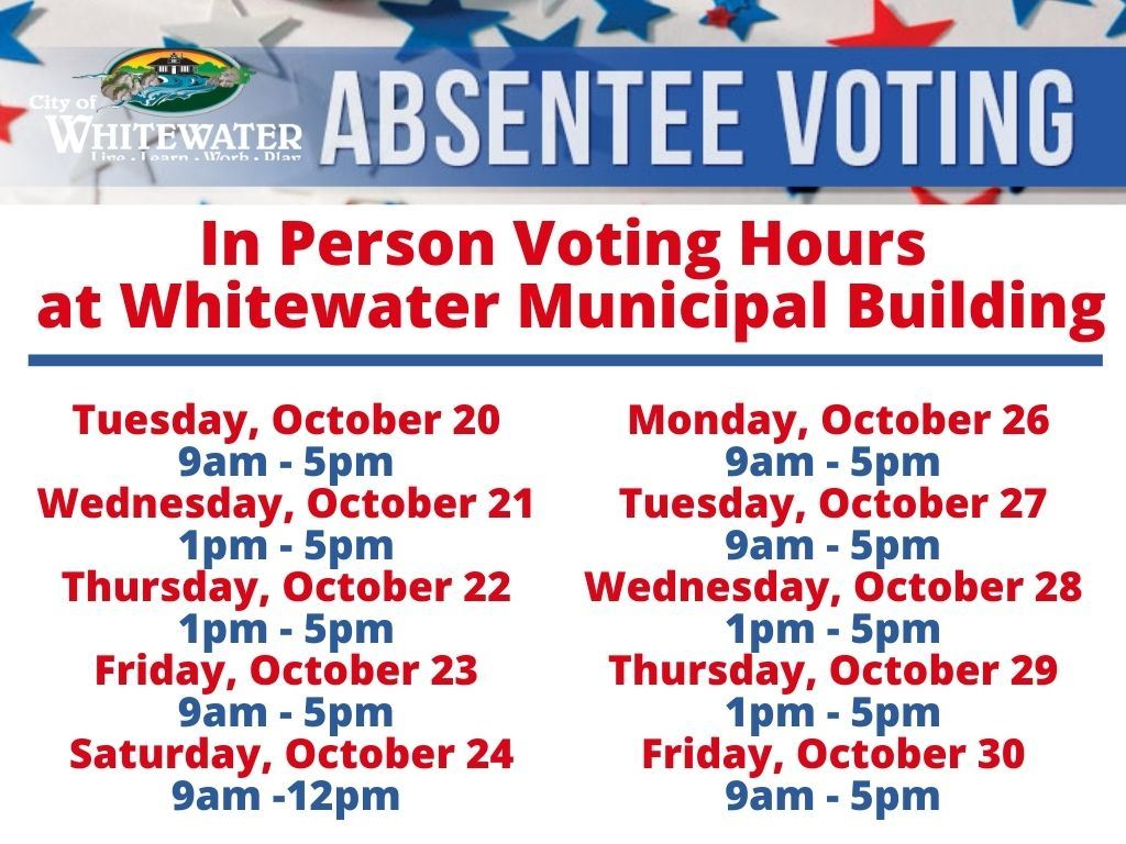 Absentee Dates